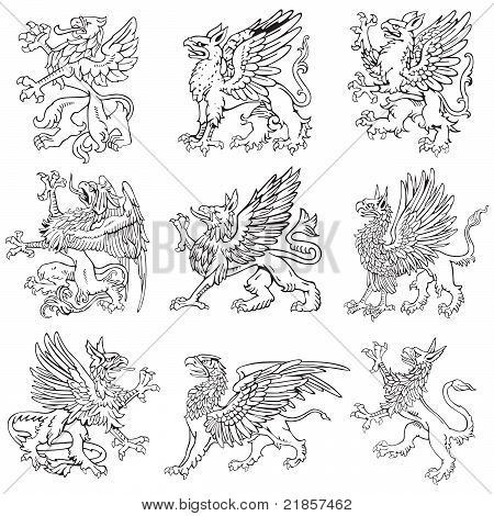 Heraldic Monsters Vol V