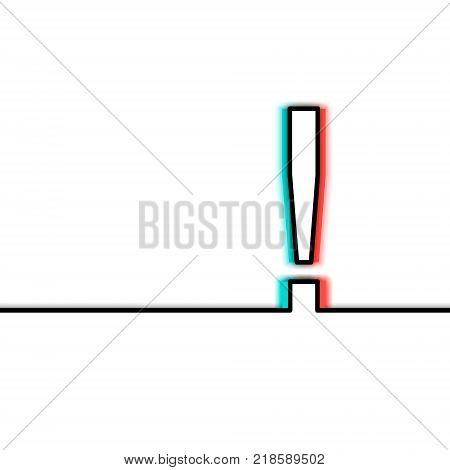 Exclamation Mark, Symbol, Circle - Single Word, Internet