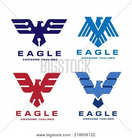 Eagle Head Logo Vector & Photo (Free Trial) | Bigstock