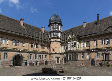 Bevern Castle is one of the most prestigious late Renaissance buildings in the valley of the River Weser