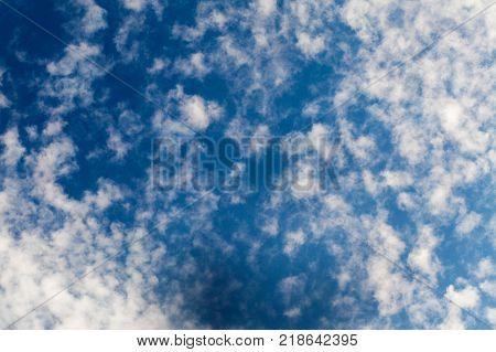 Cirrus Clouds In The Skies