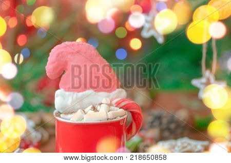 Hot Chocolate Top View