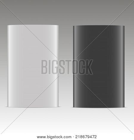 BOX for HDD disk template for your design. Vector.