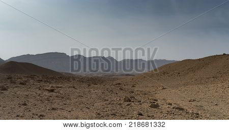 Hiking In Israeli Stone Desert