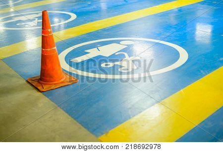 Parking for wheelchairs only Baby stroller marker for background