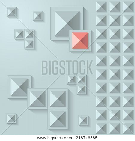 Abstract vector geometry decor. Useful for tiling, ceiling, business cards etc.