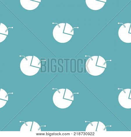 Pie chart icon. Simple illustration of pie chart vector icon for any web design