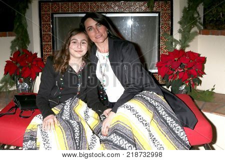 LOS ANGELES - DEC 16:  Avalon Bookstaver, Rena Sofer at the Heather Tom, James Achor, Zane Achor Christmas Party at their private residence on December 16, 2017 in Glendale, CA