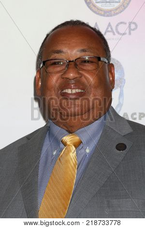 LOS ANGELES - DEC 16:  Leon W Russell at the 49th NAACP Image Awards Nominees' Luncheon at Beverly Hilton Hotel on December 16, 2017 in Beverly Hills, CA