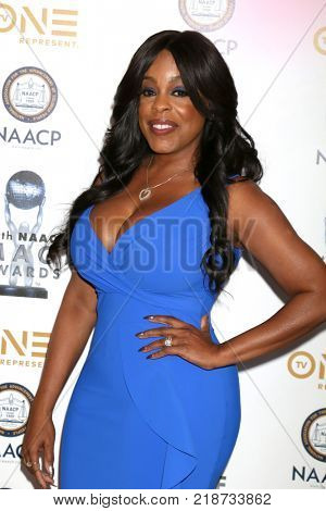 LOS ANGELES - DEC 16:  Niecy Nash at the 49th NAACP Image Awards Nominees' Luncheon at Beverly Hilton Hotel on December 16, 2017 in Beverly Hills, CA