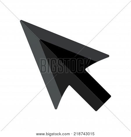 Black Cursor Arrow Icon