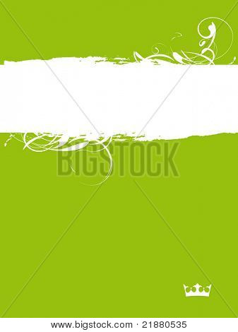 green abstract grange background for your text