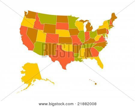 Map of USA