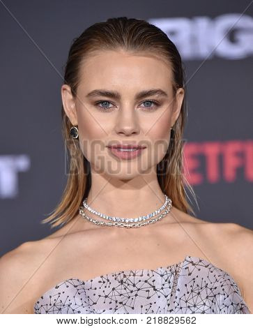 LOS ANGELES - DEC 13:  Lucy Fry arrives for the