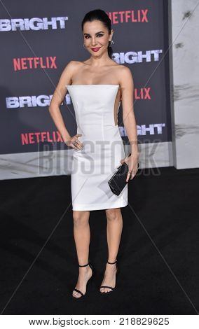 LOS ANGELES - DEC 13:  Martha Higareda arrives for the