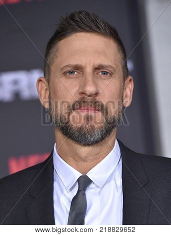 LOS ANGELES - DEC 13:  David Ayer arrives for the