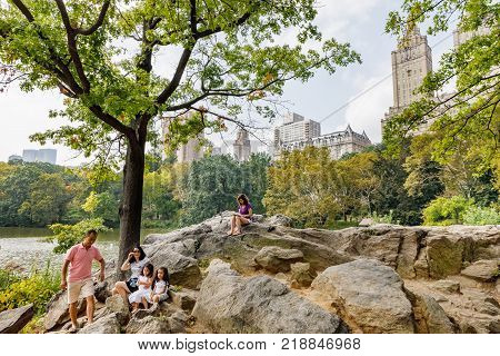 Central Park Of New York City