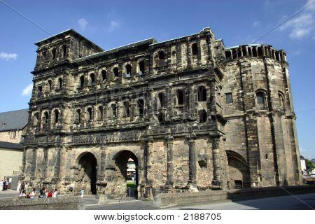 The Roman ruin Porta Nigra