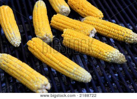 Grilled Fresh Corn