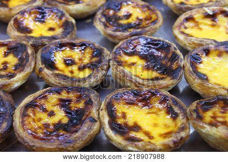 Portuguese Custard Tarts called