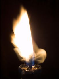Flame Of A Candle