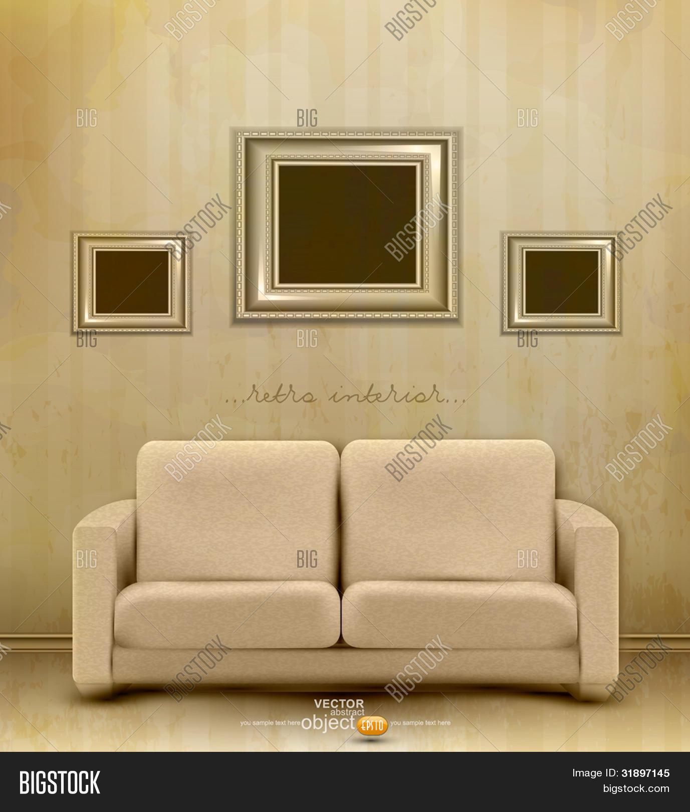 Vector y foto Vector Interior (prueba gratis) | Bigstock