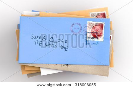 Letters To Santa Stack