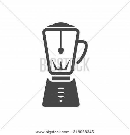 Blender Icon Isolated On White Background. Blender Icon In Trendy Design Style For Web Site And Mobi