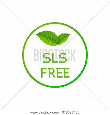 Sls Free Icon Symbol, Sulfate Sles Keratin Free Stamp Symbol