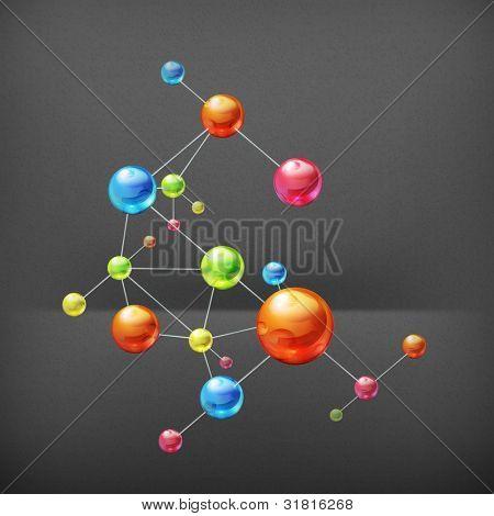 Molecule, vector