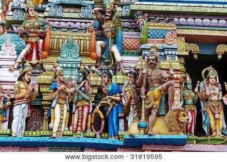Hindu Temple in Colombo, Sri Lanka