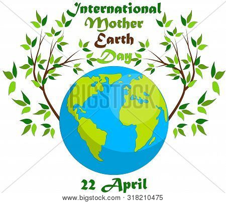 Earth Day. Eco friendly ecology concept. Earth day flat concept. World environment day background. Save the earth. Green day. poster