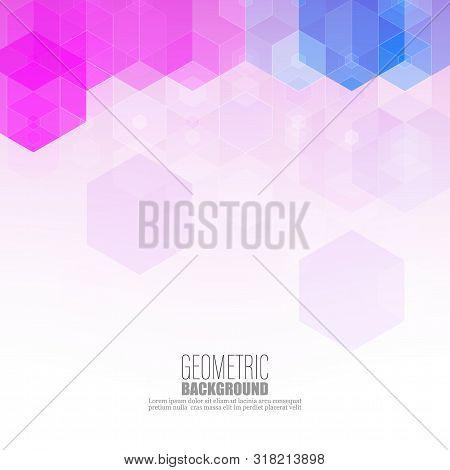 Grid Mosaic Background, Creative Design Templates Vector