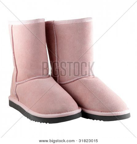 Pink Ugg - female Australian shoes