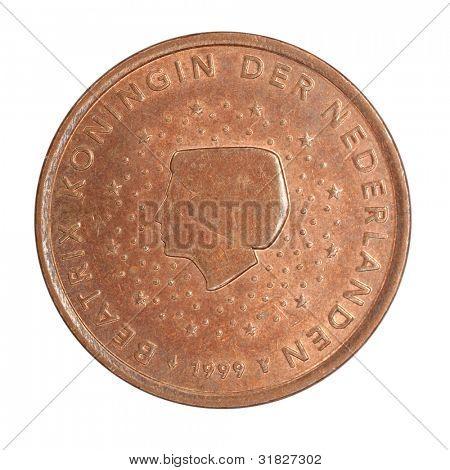 Bas-relief Beatrix Koningin Nederlanden,  euro coins
