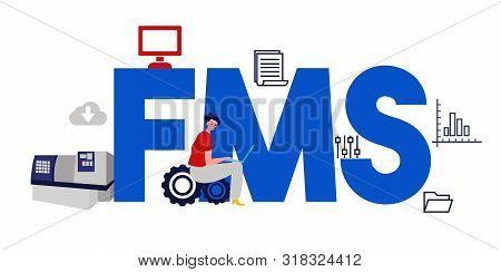Fms Fleet Management System. Factory Operation Software.