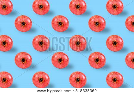 Trendy Pattern Done With Fresh Fruits Background
