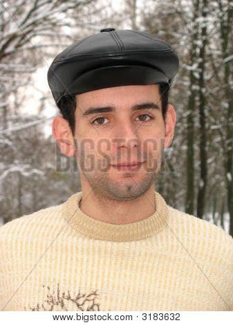 Man With Black Cap