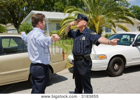 Police Officer Demonstrates
