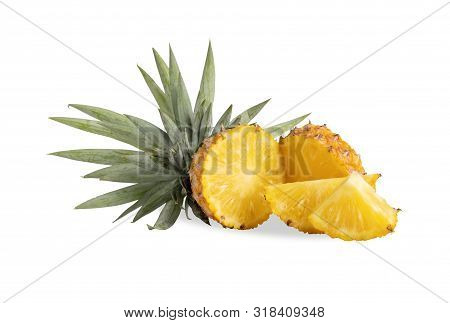 Pineapple Or Ananas Comosus Has Proteolytic Enzymes, Bromelain Names, Helps Digest Proteins, Does No