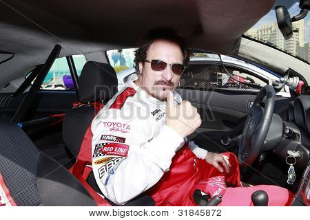 LONG BEACH, CA - APR 3: Kim Coates at the 36th Annual 2012 Toyota Pro/Celebrity Race - Press Practice Day on April 3, 2012 in Long Beach, California
