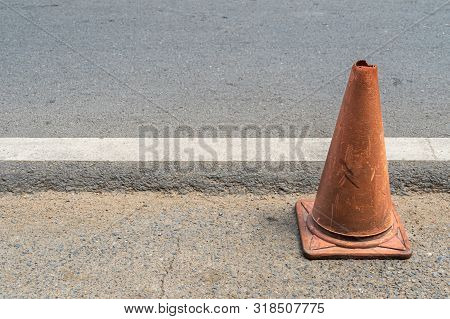Old Traffic Cones, Pylons, Safety Cones