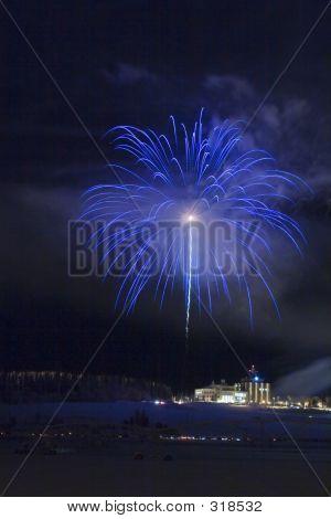 Blue Fireball