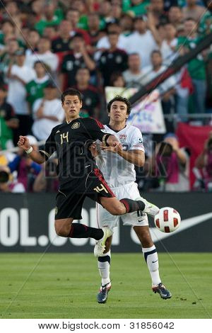 PASADENA, CA. - MAY 25: Mexico player F Javier