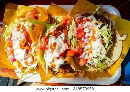 Fish Tacos, Baja California Style Tacos