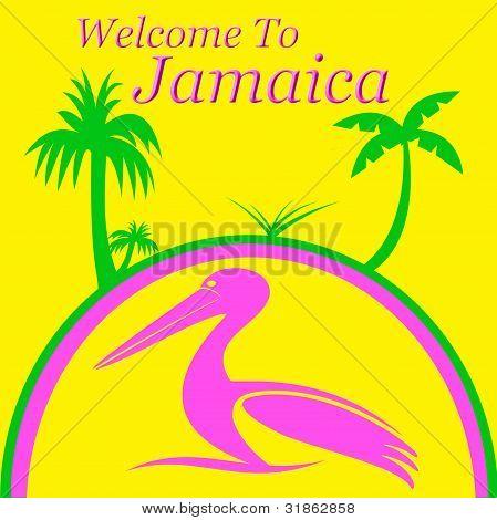 Jamaica vacation sign