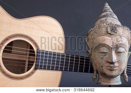 Buddha Guitar. The Creative Mind. Relaxing Spiritual Acoustic Music. Transcendental Sound For Medita