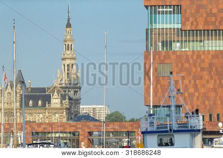 The MAS building has become one of Antwerps most well known buildings