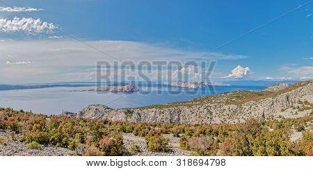 Goli Otok Island In Velebit Channel, Former Communist Yugoslavia Prison For Political Opponents