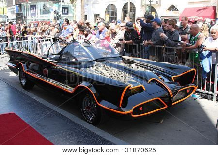 LOS ANGELES - APR 5:  Batmobile at the Adam West Hollywood Walk of Fame Star Ceremony at Hollywood Blvd. on April 5, 2012 in Los Angeles, CA